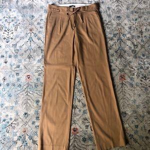 Massimo Dutti Camel Trousers size 4